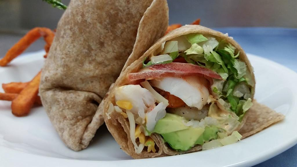 New shrimp-wrap