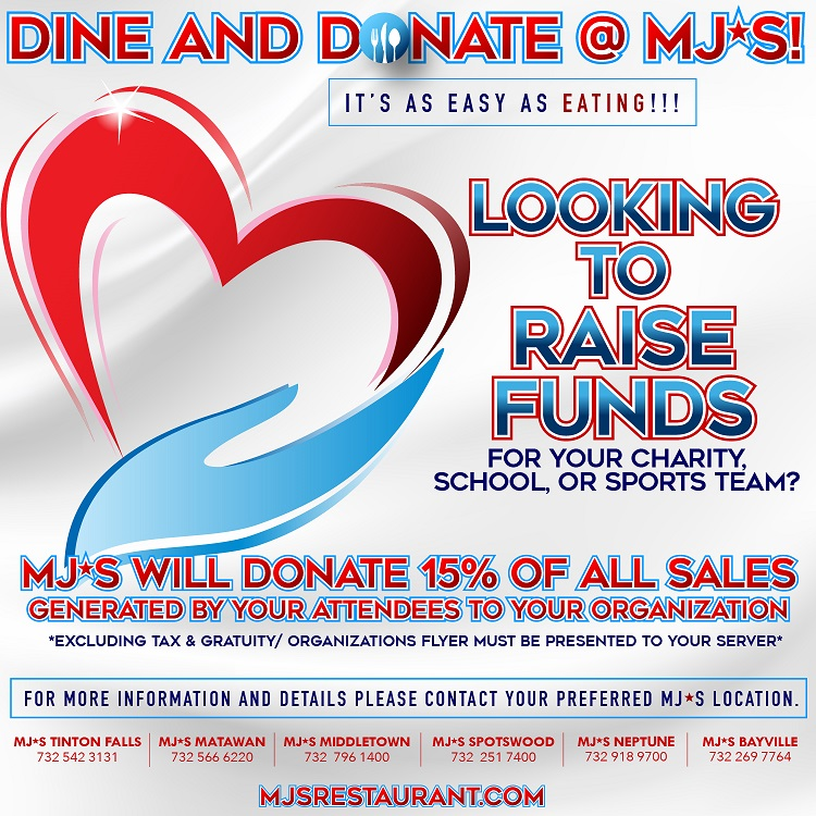 MJS dine to donate